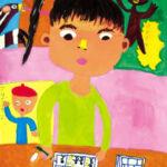 「マンガ家」 伊藤 萌恋(東加積小2年)  ●第7回 国際ソロプチミスト「夢を生きる」アートコンテスト・奨励賞